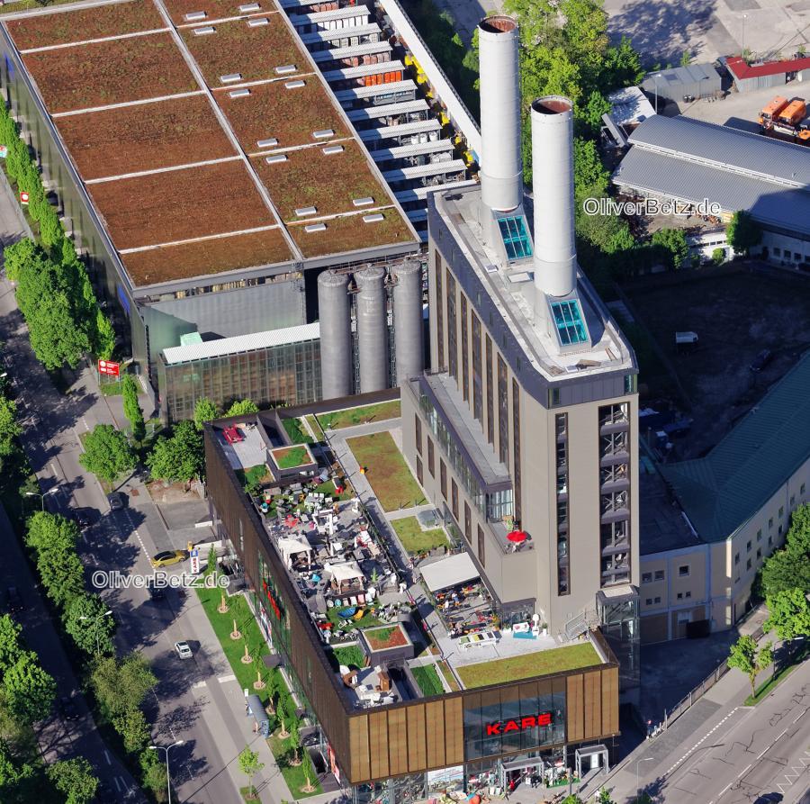 Muc kare kraftwerk 0610 oliver betz luftbilder for Kare drygalski allee